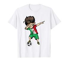 Sport Shirts - Dabbing Soccer Boy Mexico Jersey Tee Shirt Mexican Football Men - $19.95+