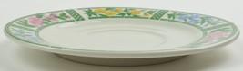 Farberware Botanica Pattern 3059 Flat Cup Saucer Stoneware China Floral ... - $3.59