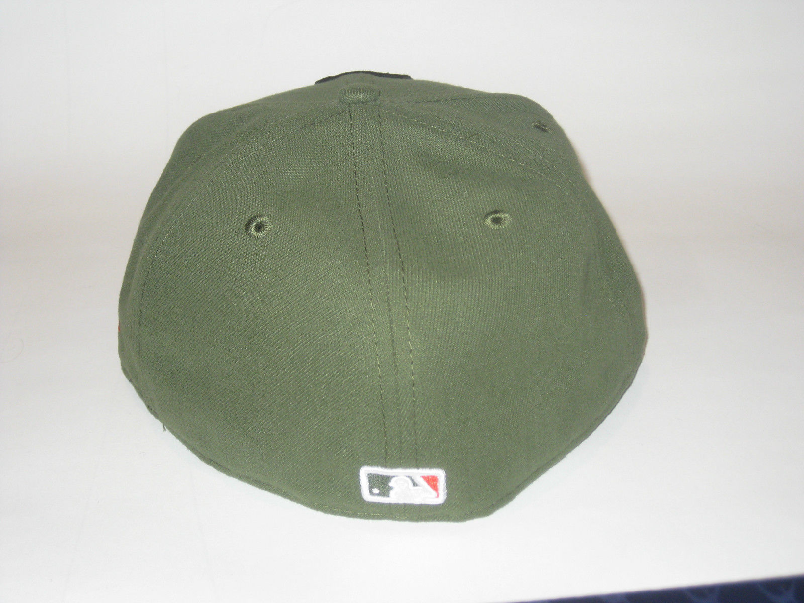 NEW ERA CALIFORNIA ANGELS LA RIFLE GREEN FITTED HAT CAP 7 1/4 59FIFTY BASEBALL