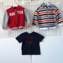 Nautica Baby Boy Clothes size 18 M Mixed Outfit Infant Lot of 3 Winter S... - $27.72