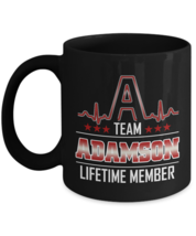 Personalized Birthday Mugs With Name Is ADAMSON or Boyfriend - Team ADAM... - $18.95