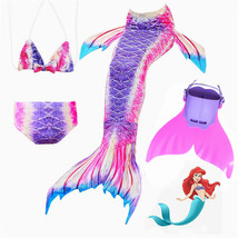 New wimmable Mermaid Tails for Swimming with Monofin  Bikini Costume Cosplay - $32.99
