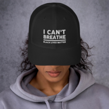 I Can't Breathe Hat / I Can't Breathe Trucker Cap image 3