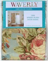 "1 Count Waverly 26"" Wide  X 68"" Length Spring Bling Vapor 100% Cotton Door Panel - $24.99"