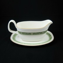 Royal Doulton Rondelay Gravy Boat & Underplate Fine Bone China Made in England - $49.49