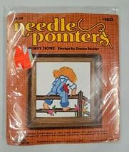 Vtg NIP Sunset Designs Needle Pointers Needlepoint Kit Kooler Hurry Home... - $9.90