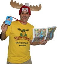 Griswold Vacation Costume Kit Adult Wally World Park Fan Funny Halloween GC4696 - £38.74 GBP