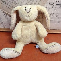 Pottery Barn Kids Bunny LOVEY PLUSH Rabbit SOFT MINKEE Stuffed Animal To... - $28.92