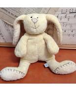 Pottery Barn Kids Bunny LOVEY PLUSH Rabbit SOFT MINKEE Stuffed Animal To... - $28.92