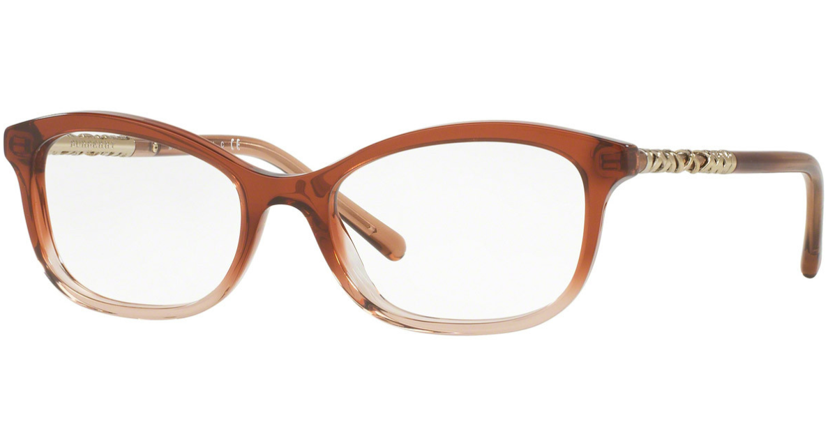 Primary image for Authentic BURBERRY 2231-3608 Eyeglasses Frame Brown Gradient Pink 54-18-140  NEW