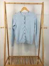 Ann Taylor LOFT Women's Light Blue Button Cardigan Sweater Size S - $12.95