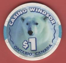 $1 Casino Chip. Casino Windsor, Ontario, CAN. I53. - $3.99