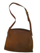 Vintage Classic Coach Brown Shoulder Hangbag - $46.27