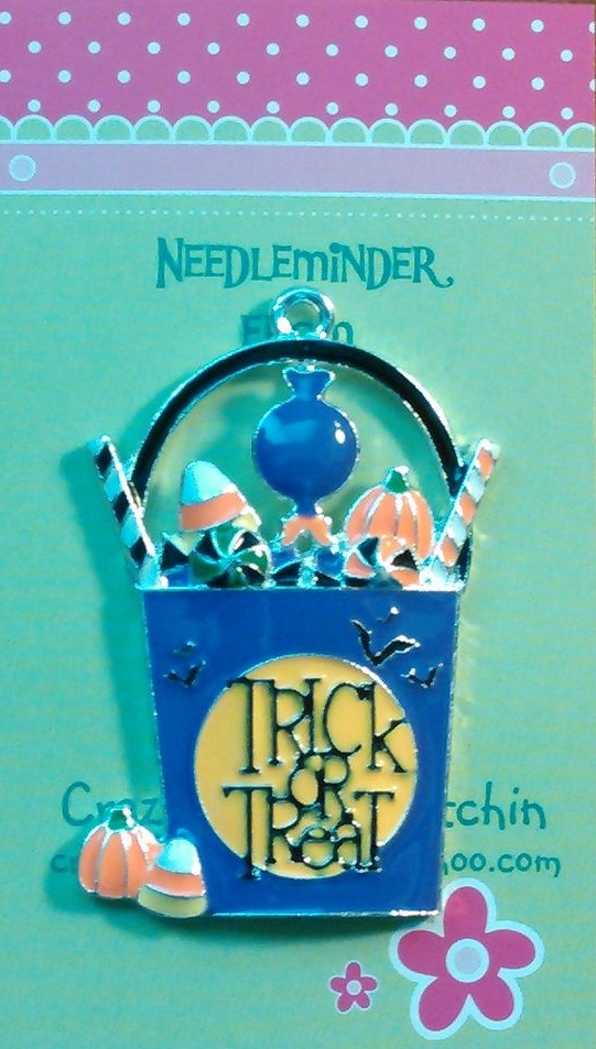 Primary image for Trick or Treat Basket needleminder cross stitch needle accessory