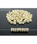 Czech Crystal Rhinestone Light Rose Gold Rondelle Spacer Beads 4mm 6mm 8... - $3.08+