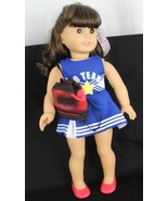 """American Girl doll backpack shoes cheerleader dress and for doll 18 """" In... - $19.70"""