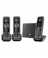 Gigaset C530 IP Trio Phone Wireless 3 Terminals, Dect and Ethernet, Hiirido - $513.57