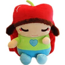 Baby Knapsack Infant Apple Girl Backpack Prevent from Getting Lost(Green)