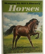 HORSES Know-It-All Library (1982) Nutmeg illustrated 28-page booklet - $9.89