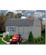 Best Barns Meadowbrook 16x10 Wood Storage Shed Kit - ALL Pre-Cut - $2,796.72