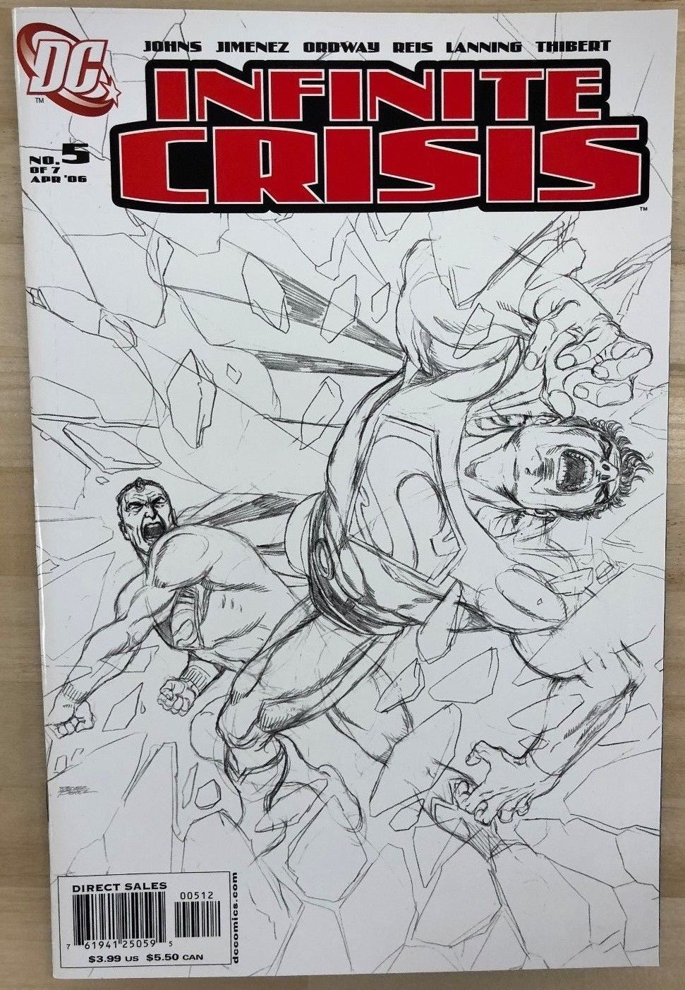 Primary image for INFINITE CRISIS #5 (2006) DC Comics variant edition VF