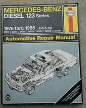 Mercedes-Benz Repair Manual Haynes 63012 Diesel 123 Series Excellent Condition - $14.01