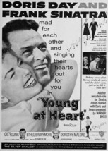 Young at Heart Frank Sinatra Doris Day poster art 5x7 inch photo - $5.75