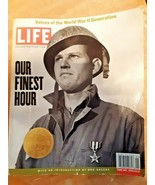Our Finest Hour Voices of the World War II Generation LIFE Collector's E... - $7.42
