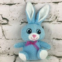 "Homerbest Bunny Rabbit Plush Blue Terrycloth 6""-7"" Stuffed Animal Soft Toy - $9.89"