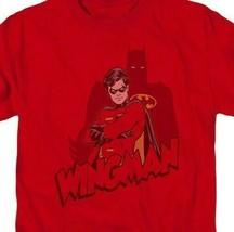 Robin Night Wing Batman DC Comics Retro red graphic cotton t-shirt BM2021 image 2