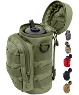 Tactical Water Bottle Pouch, Camo Carrier, Holder Military Army Carry Ba... - $17.99+