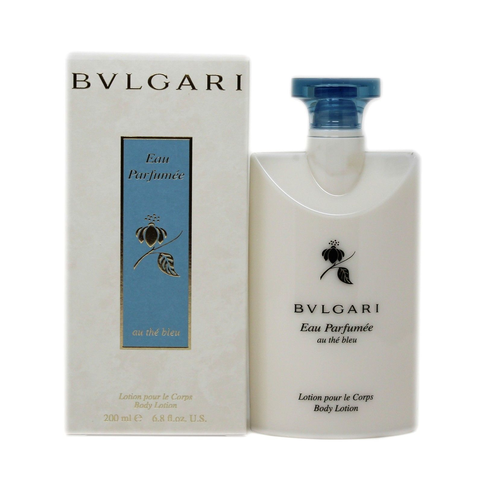 Primary image for BVLGARI EAU PARFUMEE AU THE BLEU BODY LOTION 200 ML/6.8 FL.OZ. NIB-BV10036889