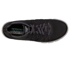 shoe Comfort Memory Charcoal Mesh Casual Sport Men Train Skechers New 52836 Foam BOEZaqWw