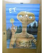 Vintage E.T. Mcdonalds Poster 1985 Universal City Studios ET  - $21.77
