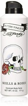 Christian Audigier Ed Hardy Skulls and Roses DEODORANT BODY Spray, 6 Oz - $14.95