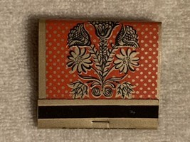 VINTAGE COLLECTIBLE  MATCHBOOK Ohio Match Company Great shape Flowers Bl... - $4.95