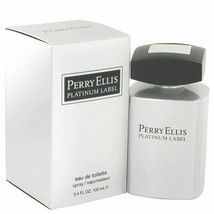 Cologne Perry Ellis Platinum Label by Perry Ellis 3.4 oz Eau De Toilette... - $28.07