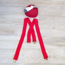 Tweedle Dee Dum Costume 2pc Red - $23.76