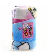 Disney Kid's Blankets Throw Embrace Your Inner Princess Pink Fleece Blanket Soft - $12.99