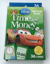 Disney Workbook Time and Money Adventures in Learning - 36 cards - $4.99