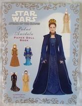 Star Wars Padme Amidala Paper Doll Book Attack of The Clones Rare Mint V... - $149.99