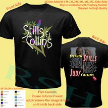 Stephen Stills with Judy Collins Tour 2018 Shirt Size Adult S-5XL Kids Baby's  - $20.00+