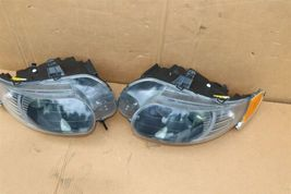 06-09 Saab 9-5 HId Xenon Headlight Head Light Lamps Set L&R - POLISHED image 4