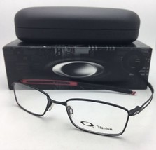 New OAKLEY Eyeglasses COIN OX5071-0152 52-18 140 Titanium Black Satin on... - $269.95