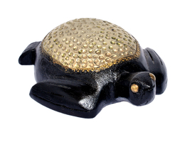 """5"""" Wooden Tortoise Turtle Statue Hand Carved Sculpture Wood Home Decor F... - $22.95"""