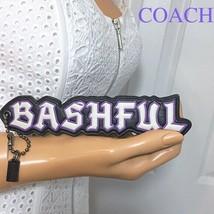 Coach Disney Hangtag Keychain Bag Charm BASHFUL Snow White NWT - $32.66