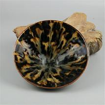 Chinese Song Jizhou kiln Yellow Glazed Porcelain Kiln glaze Bowl - $128.68