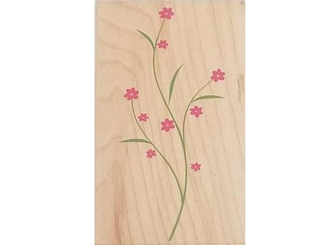 Hero Arts-Decorative Branch-Wood Mounted Rubber Stamp #F4563