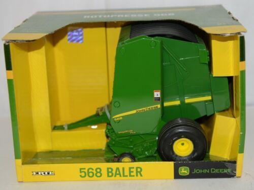 John Deere TBE15949 Die Cast Metal Replica 568 Baler Green