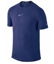 Nike Mens Royal Blue AeroReact Short Sleeve Training T-Shirt Running Large - $69.99